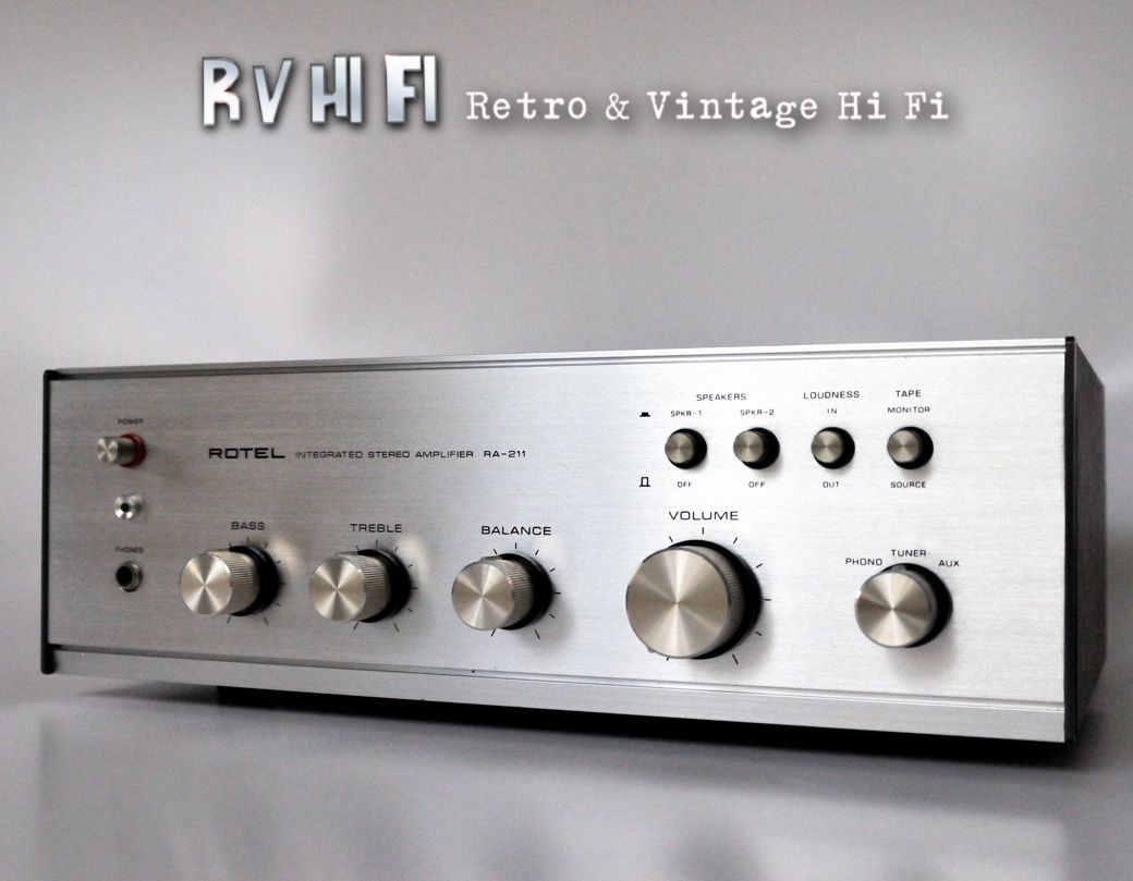 Rotel RA211 Stereo Intergrated Amplifier RV HiFi Online