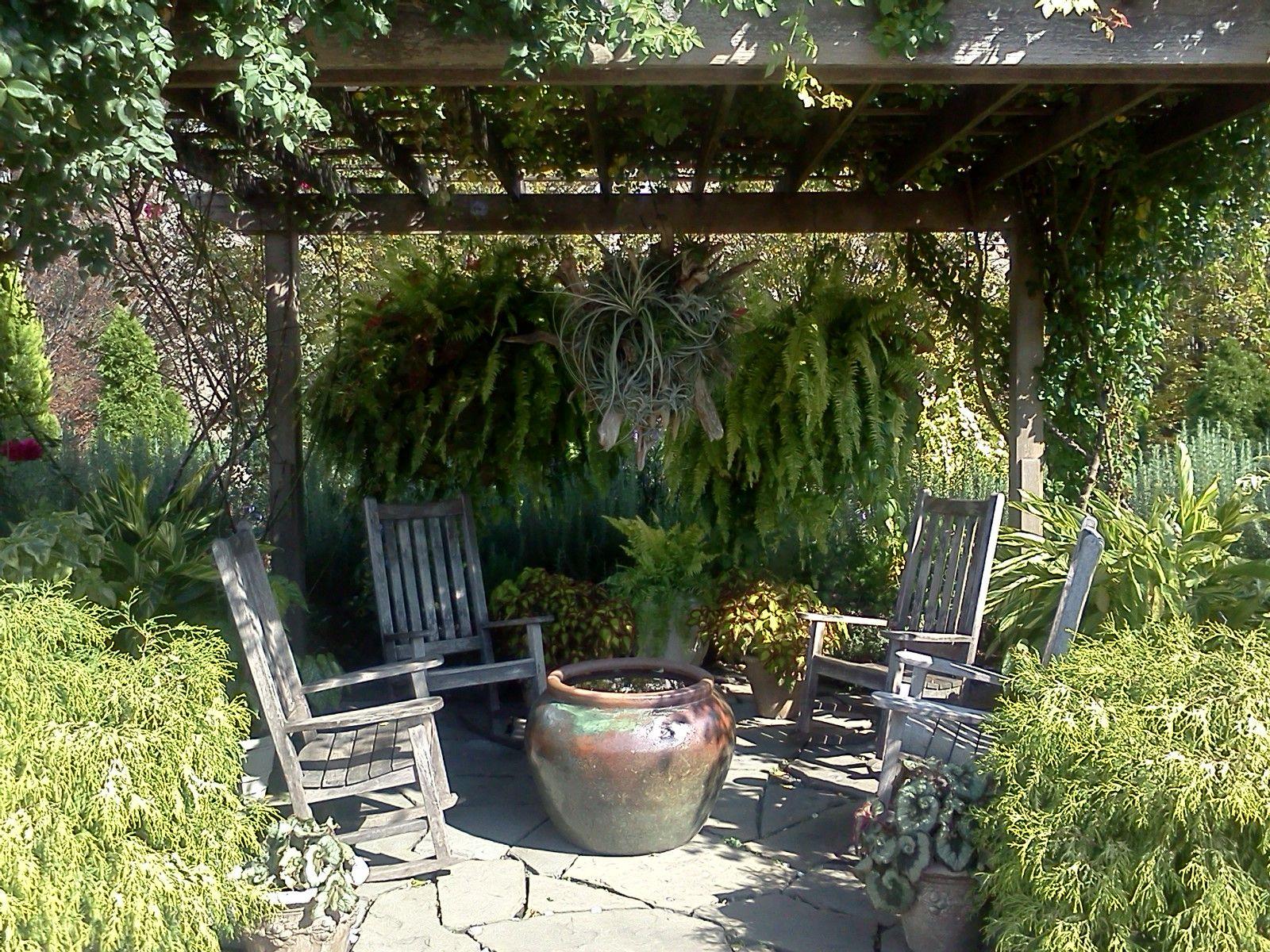 Lovely Alcove National Botanic Garden Washington Dc