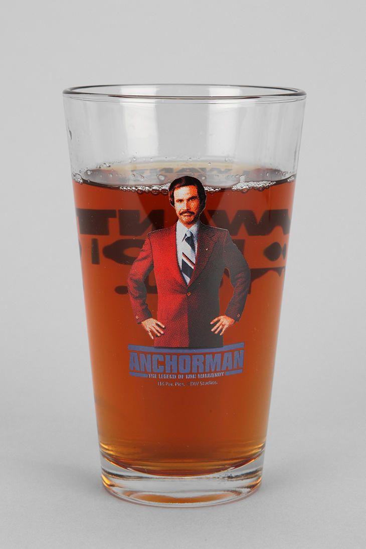 Anchorman Pint Glass
