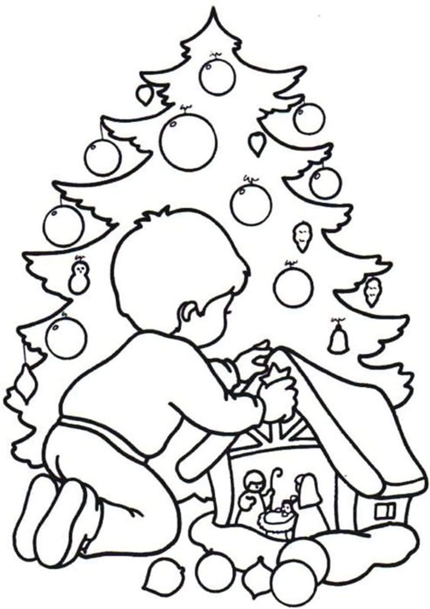 Free Easy To Print Christmas Tree Coloring Pages Christmas Tree Coloring Page Tree Coloring Page Christmas Coloring Books