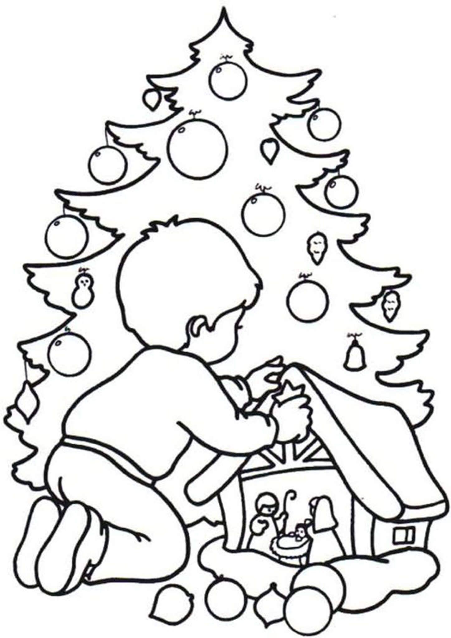 Free Easy To Print Christmas Tree Coloring Pages Christmas Tree Coloring Page Tree Coloring Page Christmas Coloring Books