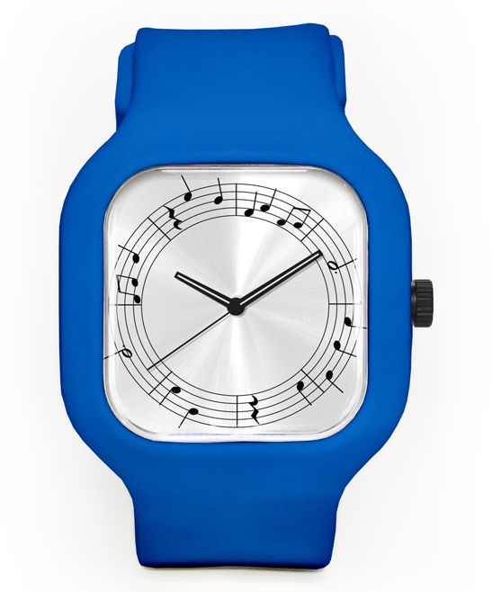Royal Blue Chained Melody Interchangeable Strap Bracelet Watch