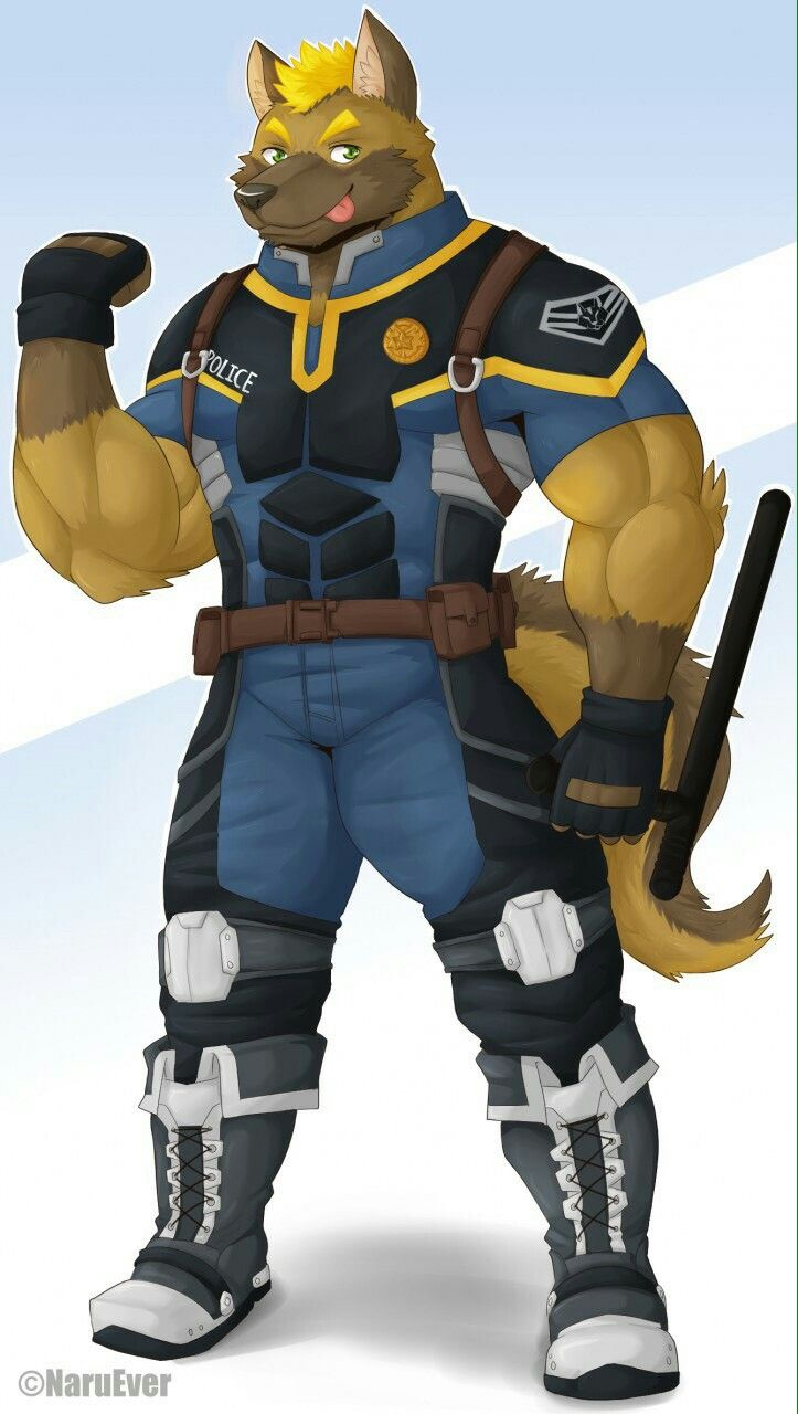 Pin by 恩 劭 on Furry Policemen Police, Fictional