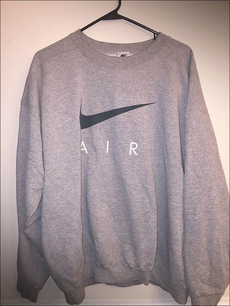 check out ceeb8 58948 Vintage 90s Nike Air USA White Tag Crewneck Sweatshirt - Size Large by  JourneymanVintage on Etsy winterfashion2017casual