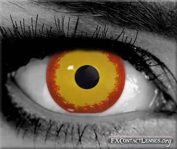 spike custom sfx contact lenses flaunt your fierce side with these