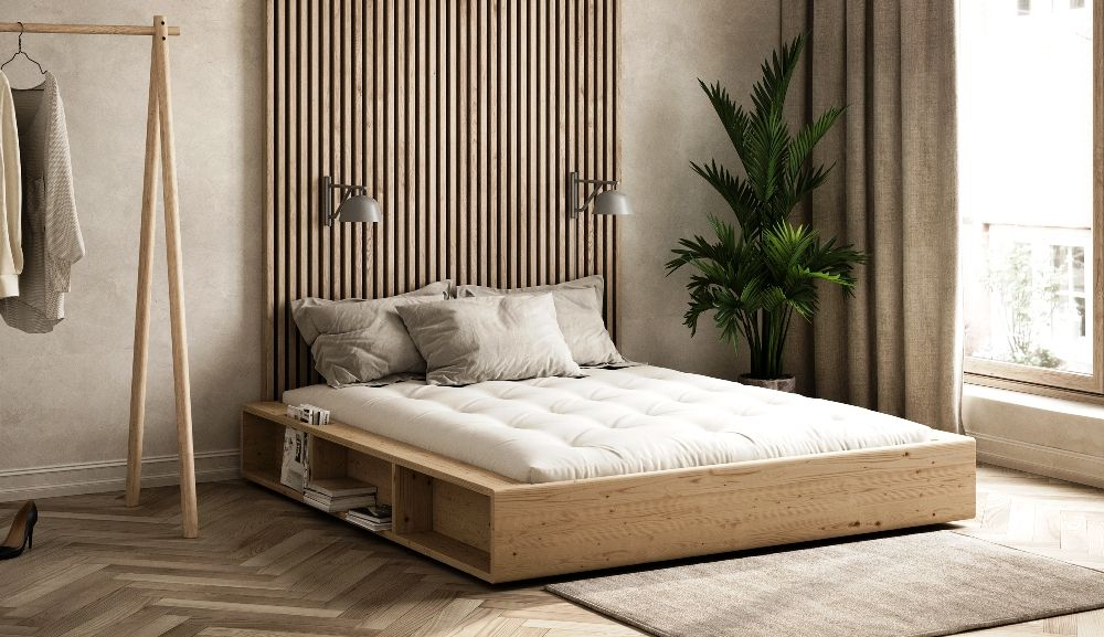 The Ziggy Bed is a stylish new model from Karup Design in