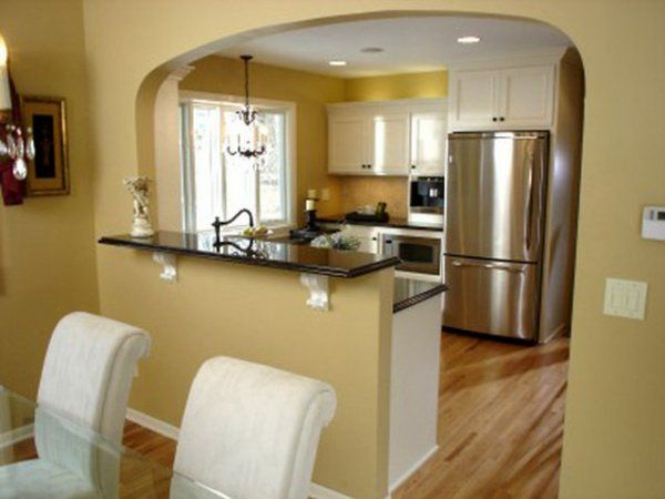 Opciones para arcos dise o arco entre la cocina y for Separacion de muebles cocina comedor