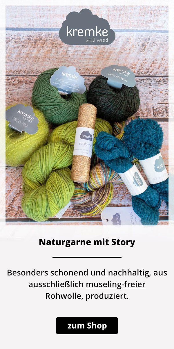 Leichter Lochmuster-Schal mit Farbverlauf - kostenlose Strickanleitung