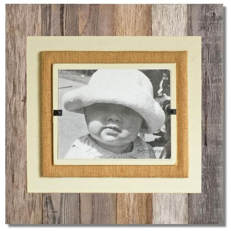 Reclaimed Wood Burlap Frame Large In 2020 With Images