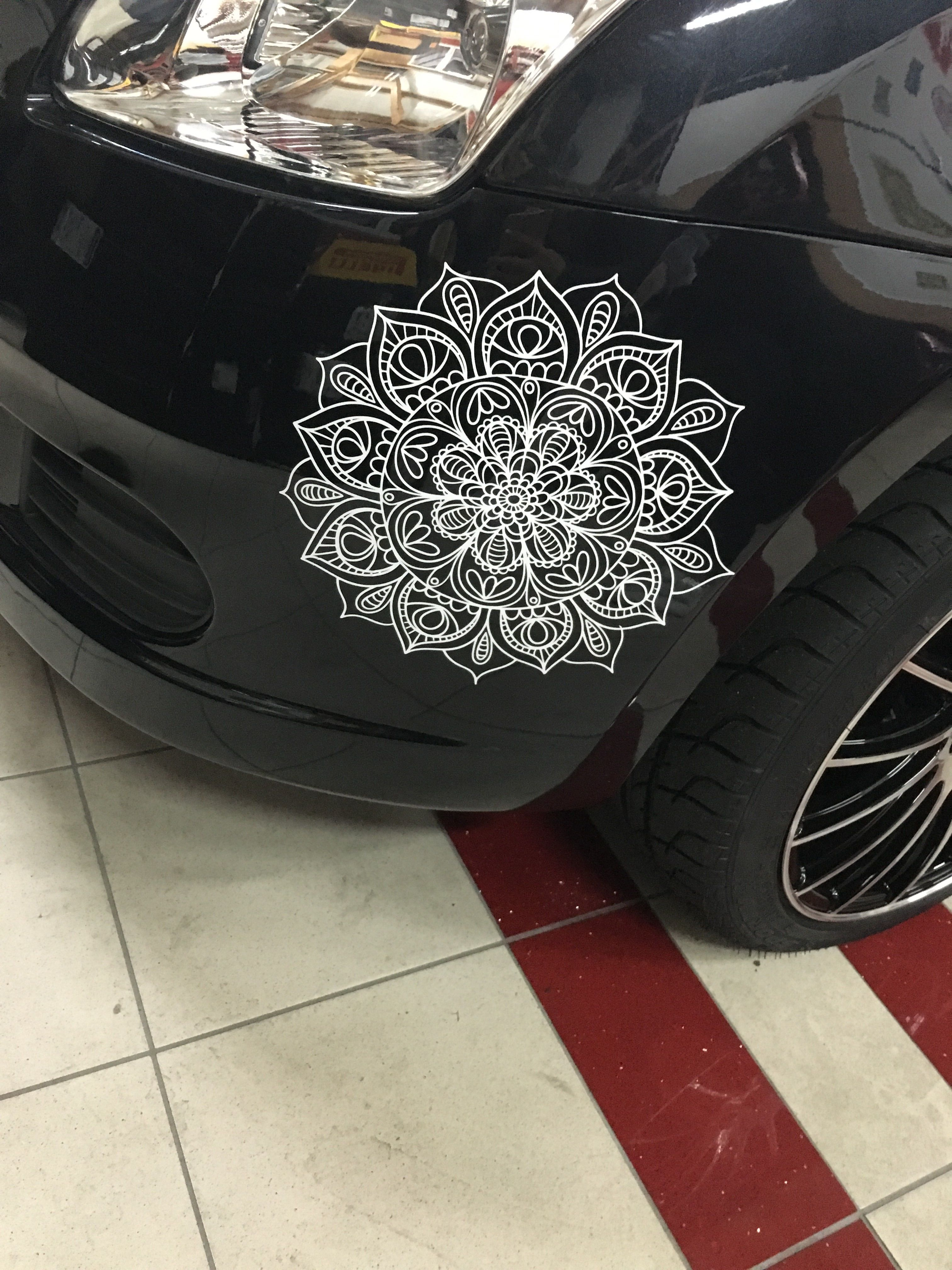 Mandala Car Decal from www.NikkisMandalas.com www.Amazon.com /handmade/NikkisMandalas