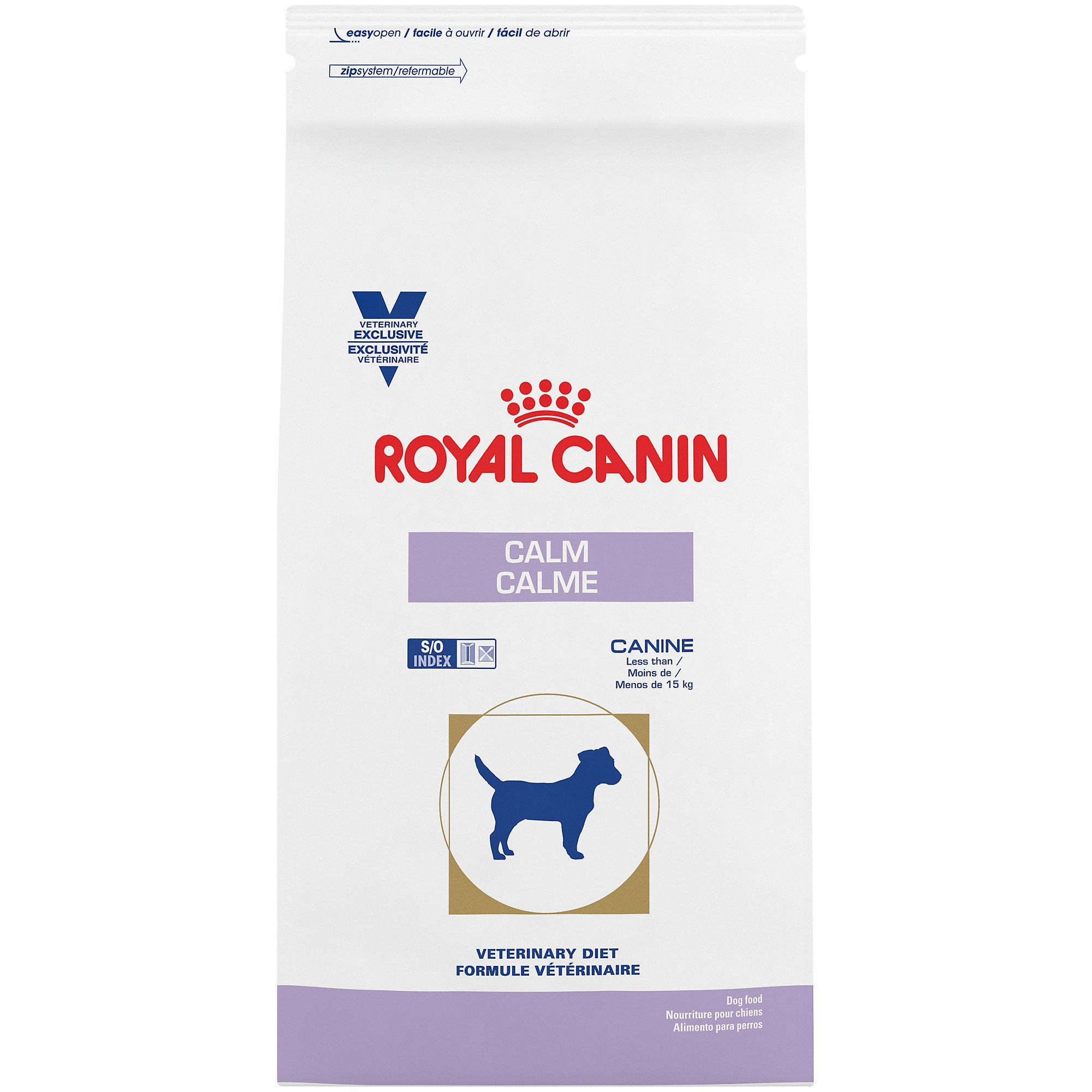 Royal Canin Veterinary Diet Canine Calm Dry Dog Food 8 8 Lbs In