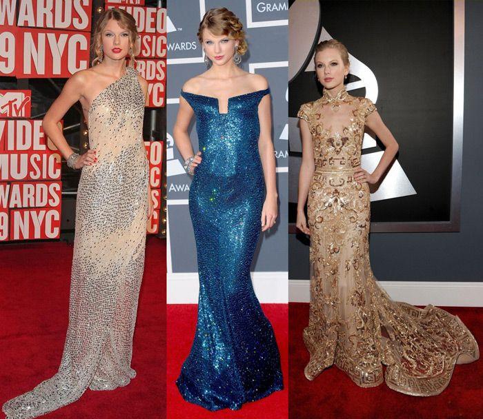 taylor-swift-golden-dresses   Things to Wear   Pinterest   Golden dress