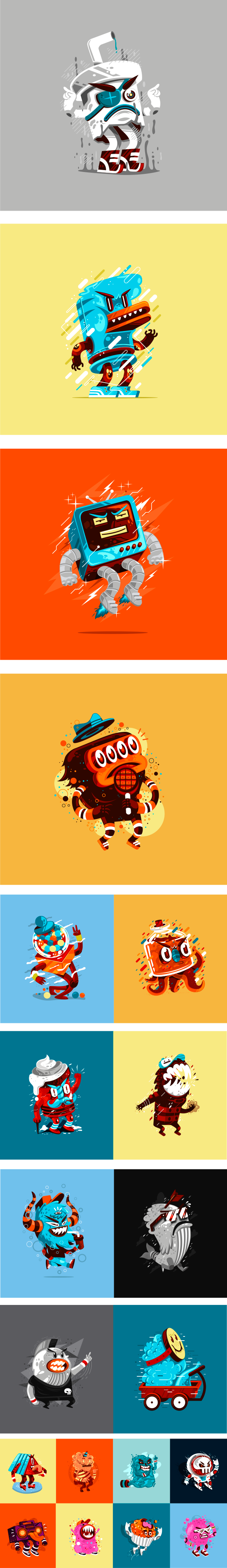 Sweet Monsters Company on Behance Game icon design