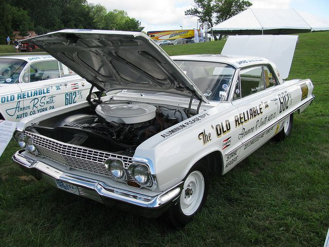 1963 Chevrolet Impala Z 11 Old Reliable Iv Dave Strickler And Bill Grumpy Jenkins Chevrolet Impala Drag Racing Cars Old Race Cars