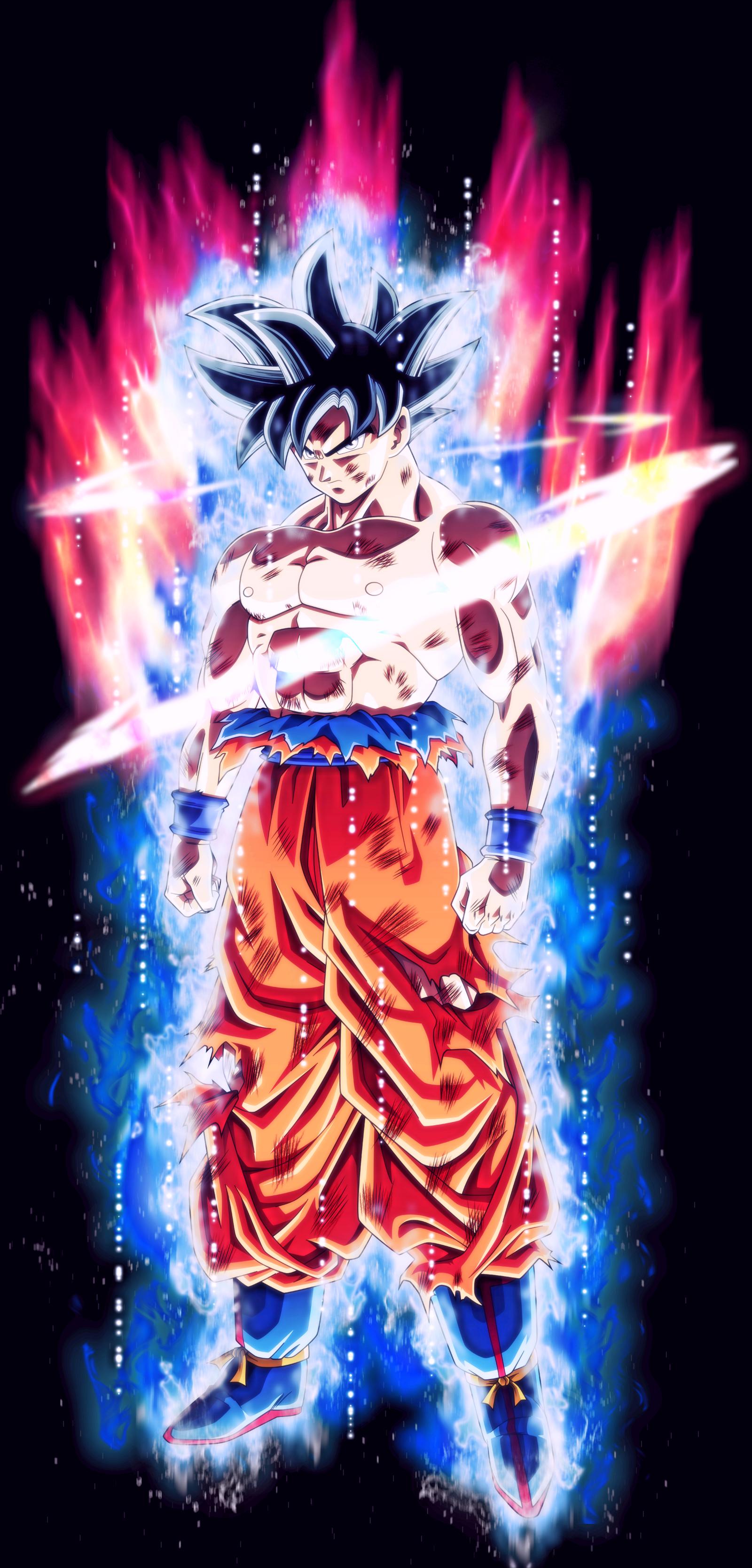 Goku Training Wallpaper