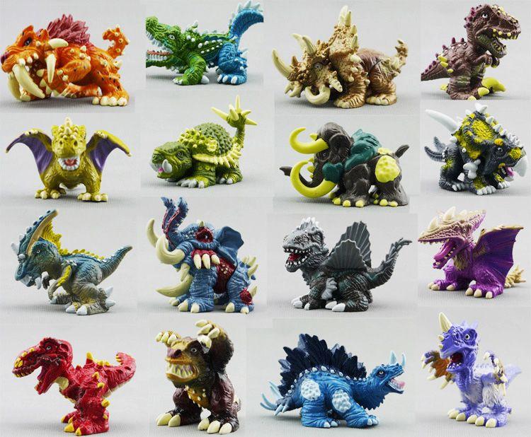 24 pieces Dinosaurs Playset Toys 7cm`s Plastic Jurassic Action Figures