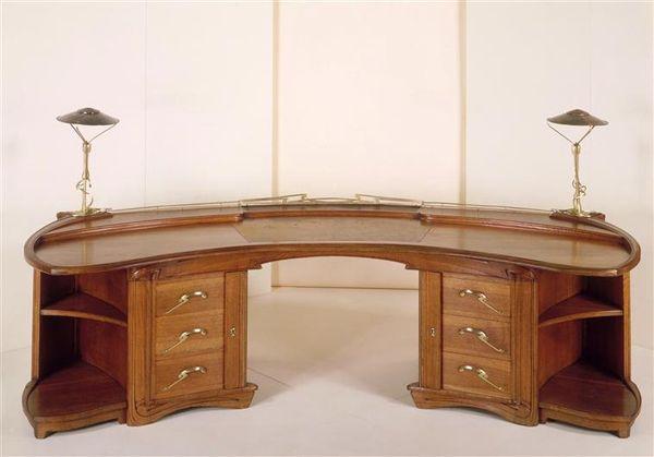 henry van de velde desk arts crafts movement henry van de velde pinterest art nouveau. Black Bedroom Furniture Sets. Home Design Ideas