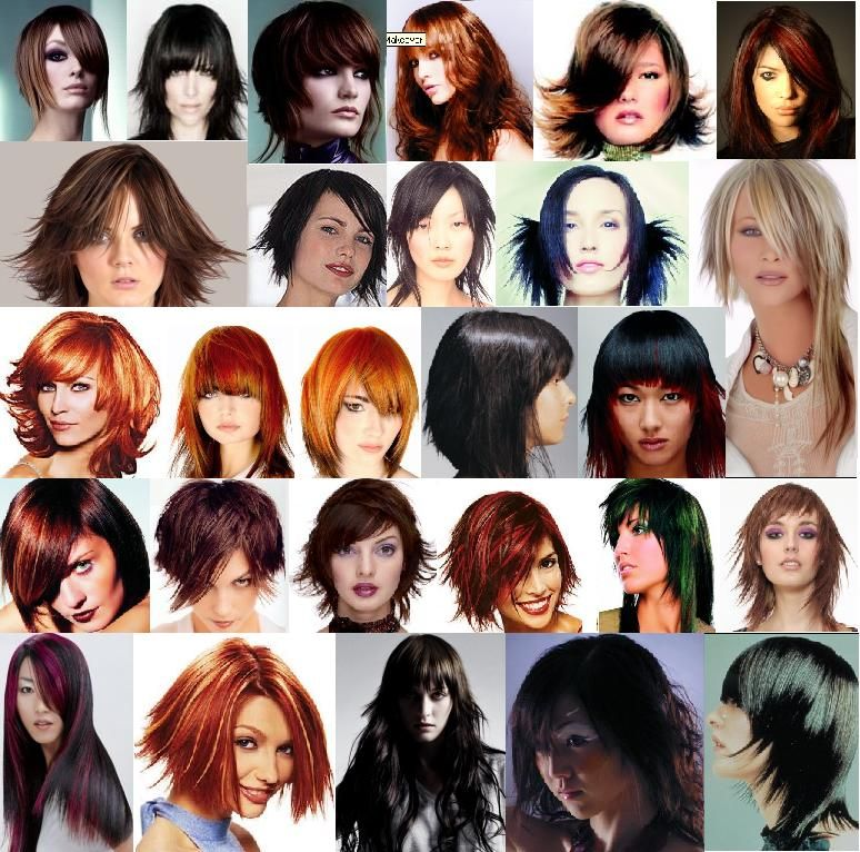 Surprising Different Types Of Style And Hairstyles For Girls On Pinterest Hairstyles For Women Draintrainus