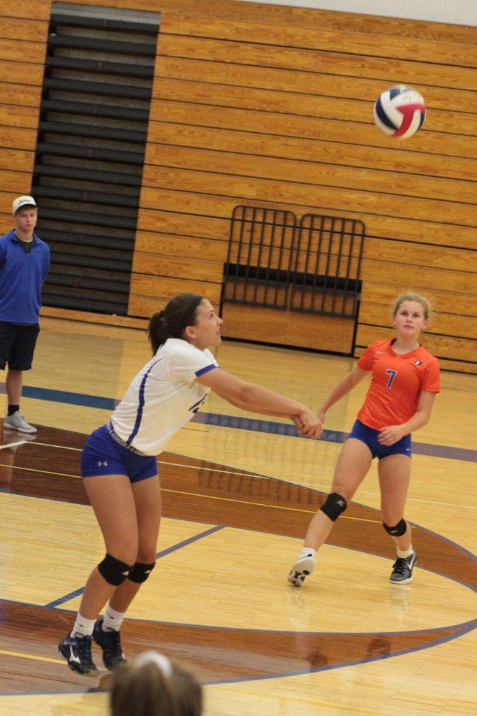 Varsity Volleyball Vs Seckman 8 22 17 Jefferson Blue Jays Jefferson High School Sports Volleyball Inspiration Volleyball Photos Women Volleyball