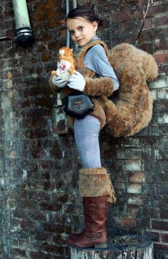 eichhörnchen kostüm selber machen  kostüm idee zu