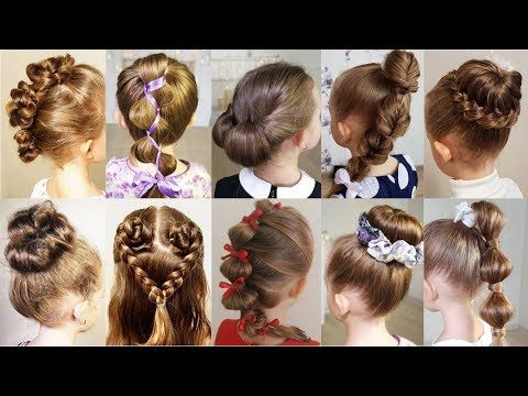 10 cute 1-minute hairstyles