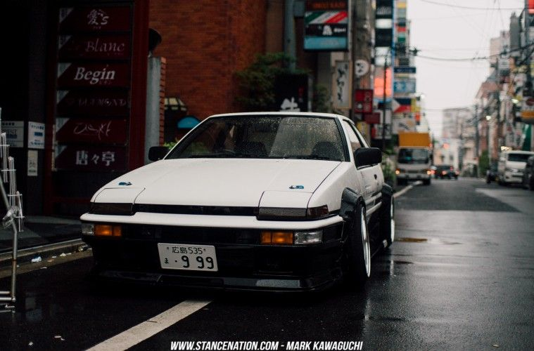 Old School Perfection Takanobu S Toyota Sprinter Trueno Jdm