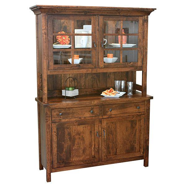 Amish Judah Hutch | Amish Furniture | Shipshewana Furniture Co.