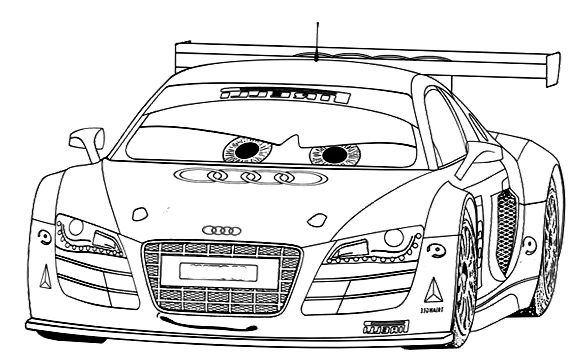 Audi Car R8 Sport Coloring Page Audi Car Coloring Pages Sports Coloring Pages Cars Coloring Pages Audi Cars