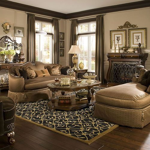 Living Rooms Michael Amini Furniture Designs
