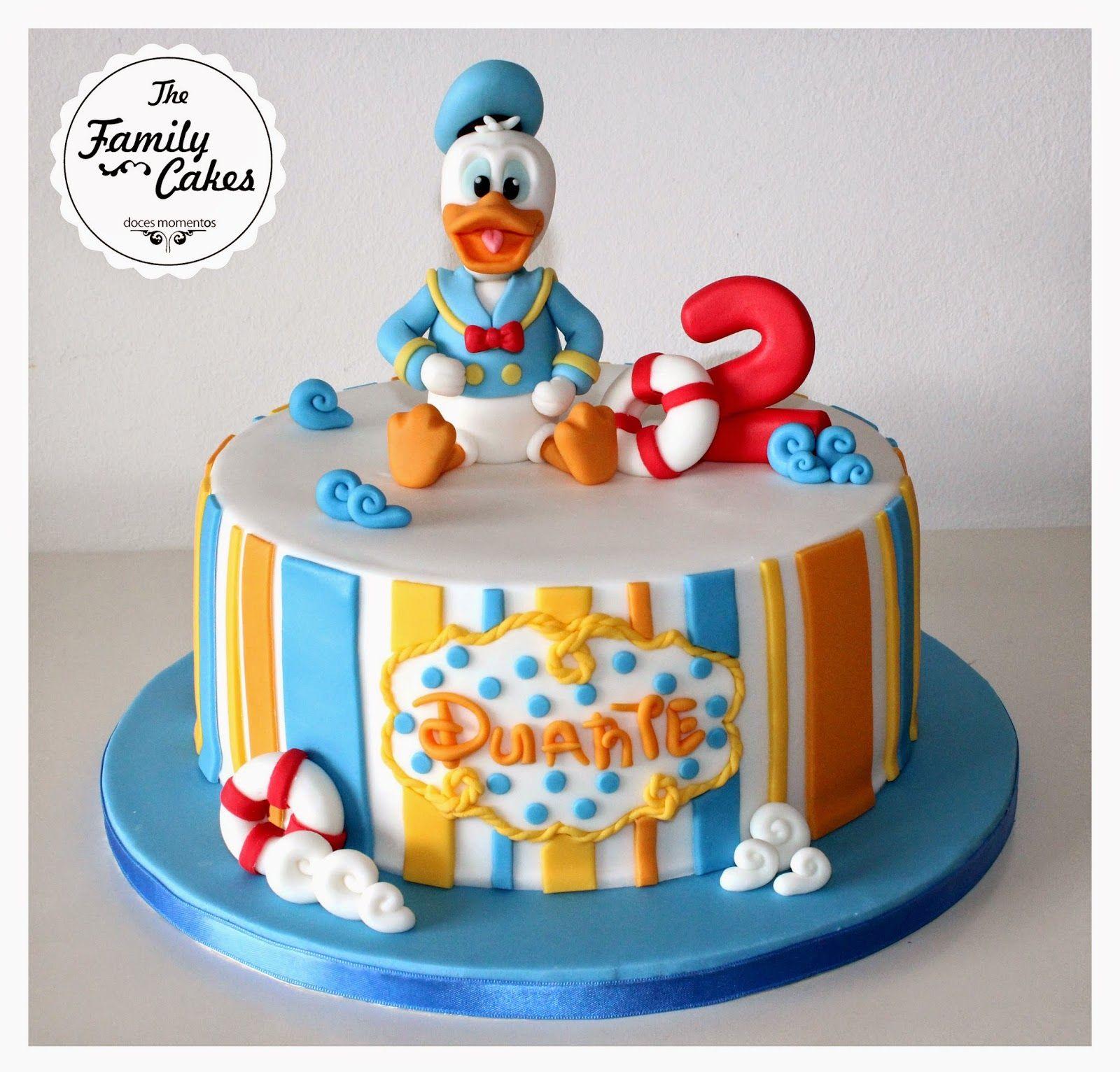 Bolo Pato Donald Donald Duck Cake The Family Cakes Comic
