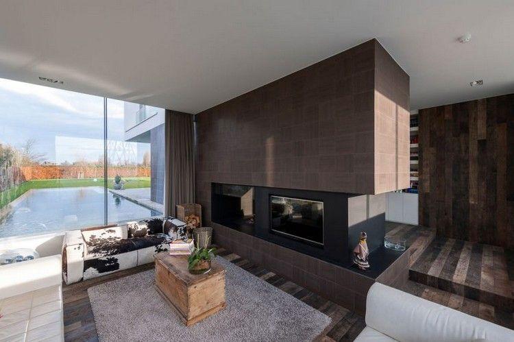 Design d\'intérieur moderne dans une maison individuelle en Belgique ...