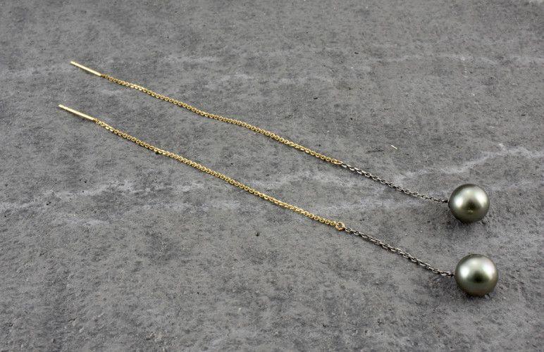 akoya draw earrings