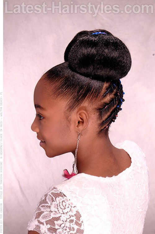 Pin On Quick Updo Hairstyles For Black Teenage Gurls