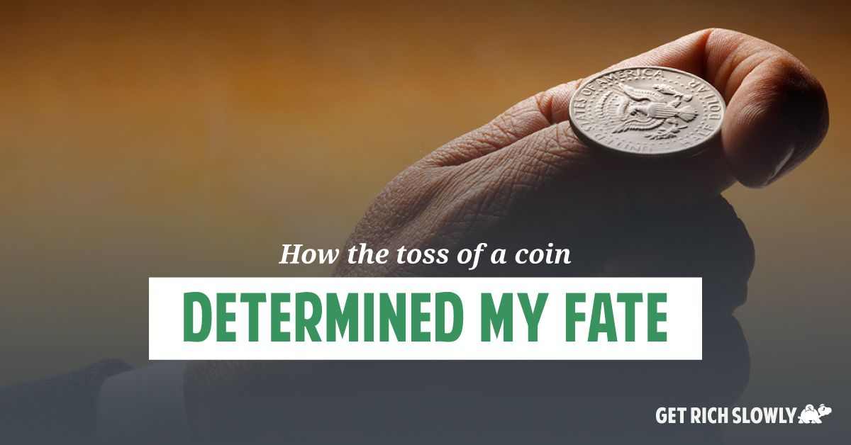 How the toss of a coin determined my fate || Part of my ...