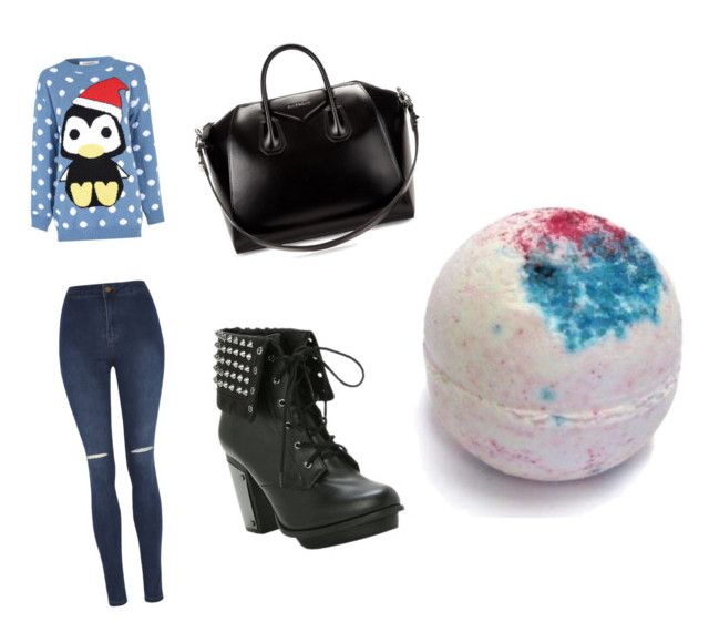 """""""Untitled #8"""" by chanaderw on Polyvore featuring Glamorous, George and Givenchy"""