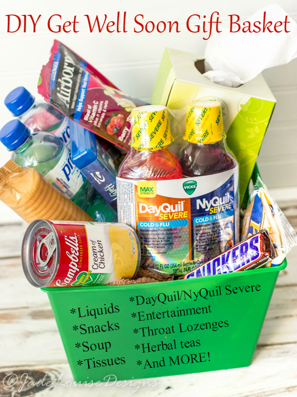 Get Well Soon Gift Basket Ideas Reliefishere Health