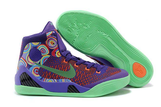 timeless design a5345 694f1 Buy Women Shoes Brand Nike Kobe 9 Elite in Turf Orange Pink Purple Colorway