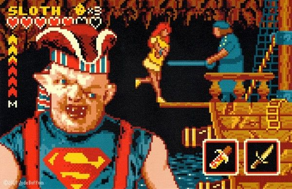 Awesome retro gaming look done to Goonies