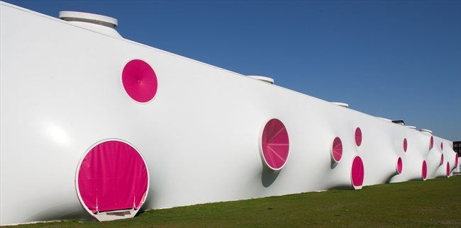 Olympic Shooting Venue, London 2012, by Magma Architecture