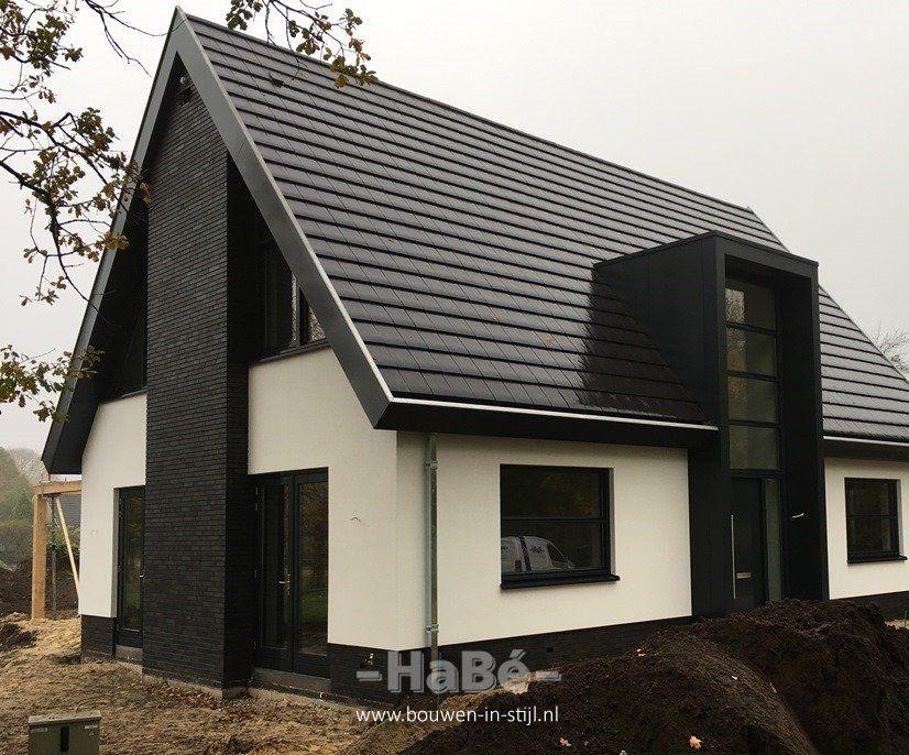 Klein Huis Bouwen : Vrijstaande woning in barneveld habé bouwen in stijl huis in