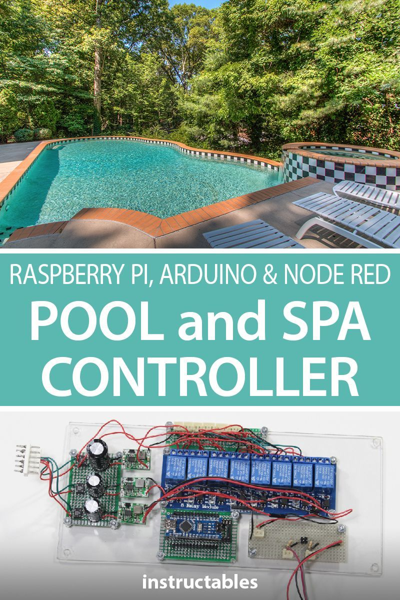 Replace Your Pool and Spa Controller With Raspberry Pi, Arduino