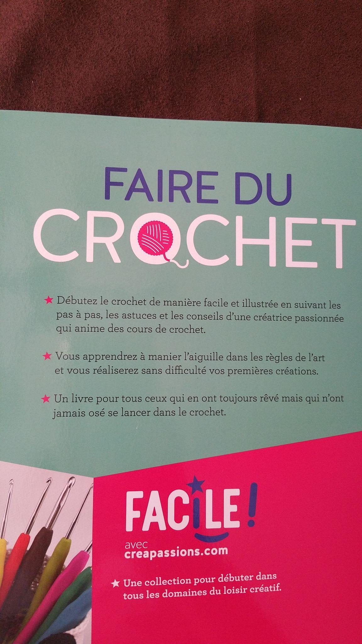 Un Livre Au Crochet Pour Debutant Crochet Facile Crochet Pour Debutant Apprendre Le Crochet