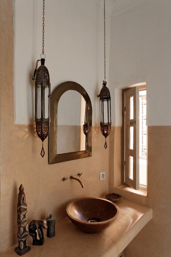 Le Riad Berbère | Morrocan Bathroom | Moroccan Decor | Moroccan Interiors | Moroccan Style Ki... - My Magnificent Ideas