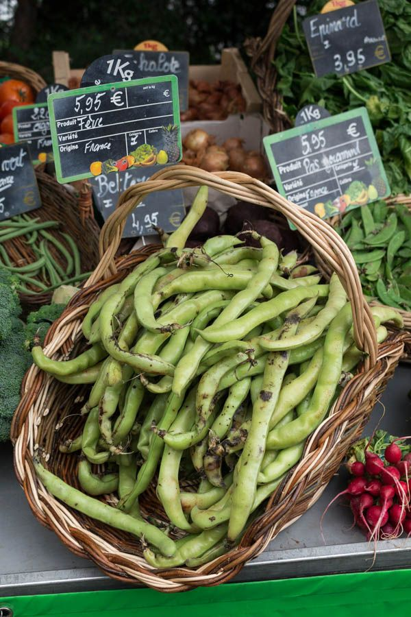 Food Market in Tours France | Recipes From A Pantry - one of many amazing photos showing the wonderful fresh food available in the Tours region.