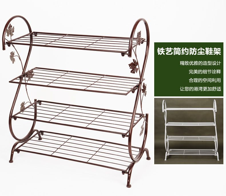 Wrought Iron Shoe Rack Google Search Metal Shoe Rack Diy Shoe