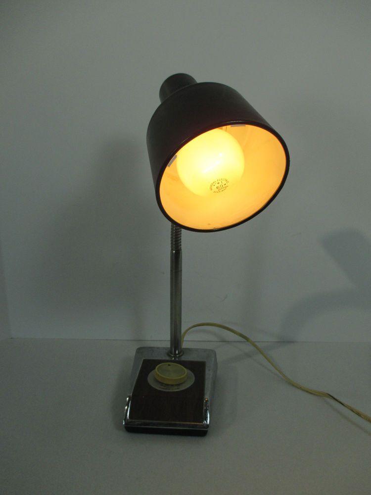 Mid Century Desk Lamp Dimmer Switch Flexible Neck Underwriters Laboratories Lamp Lamp Dimmer Switch Desk Lamp