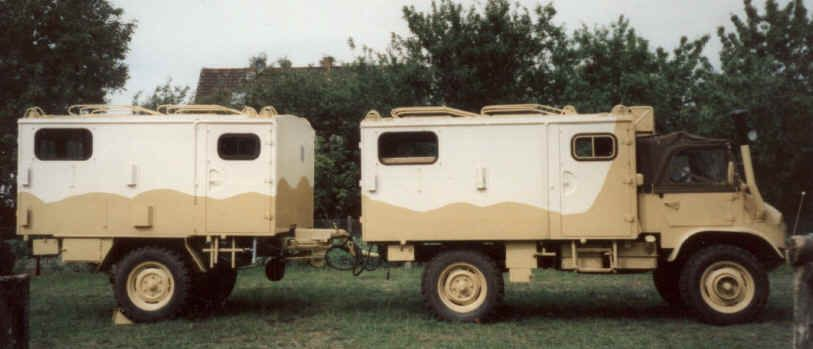 Unimog 404 Camper W Trailer Unimog