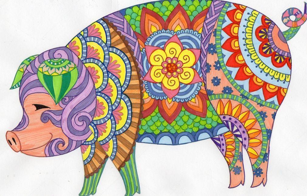 Pin de Andrea😎 em Pig illustrations and art imagens