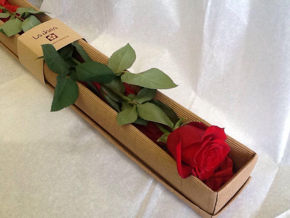 Rosa En Caja Www Floresenvalladolid Es Envoltura De Flor Flores Bonitas Arreglos Florales Creativos