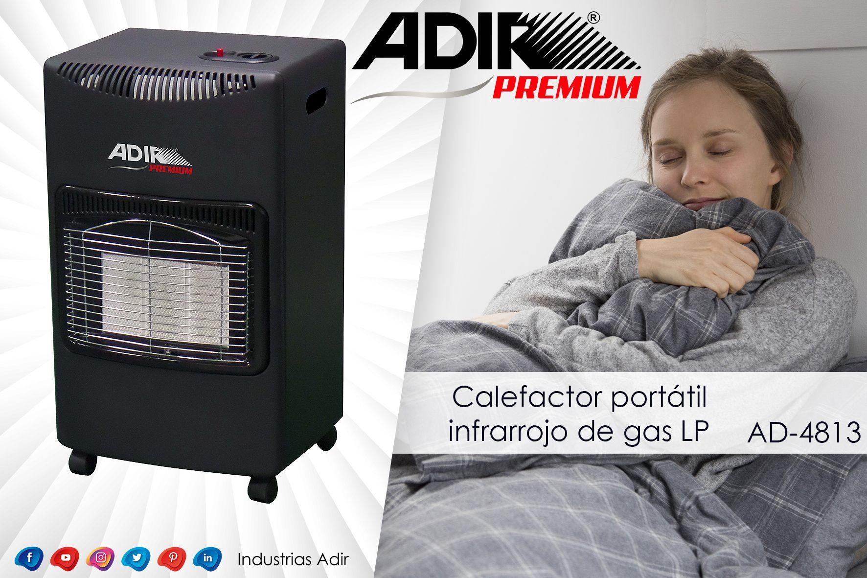 Calefactor Quemadores Gas Lp Portatil